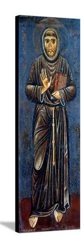St. Francis Of Assisi-Margarito d'Arezzo-Stretched Canvas Print