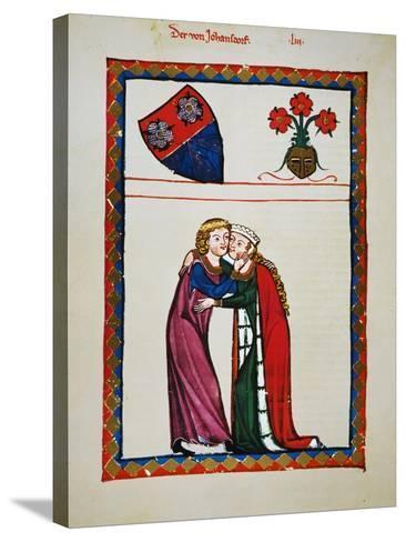 Heidelberg Lieder, 14Th C--Stretched Canvas Print
