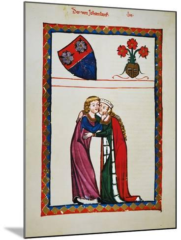 Heidelberg Lieder, 14Th C--Mounted Giclee Print