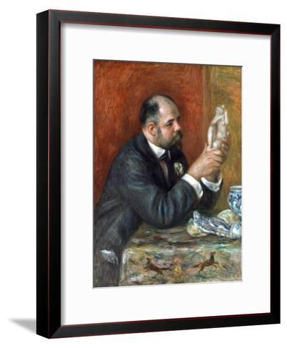 Ambroise Vollard-Pierre-Auguste Renoir-Framed Art Print