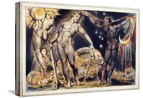 Blake: Jerusalem, 1804-William Blake-Stretched Canvas Print