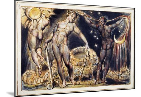 Blake: Jerusalem, 1804-William Blake-Mounted Giclee Print