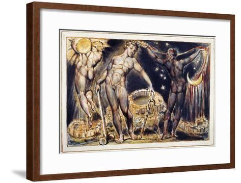 Blake: Jerusalem, 1804-William Blake-Framed Art Print