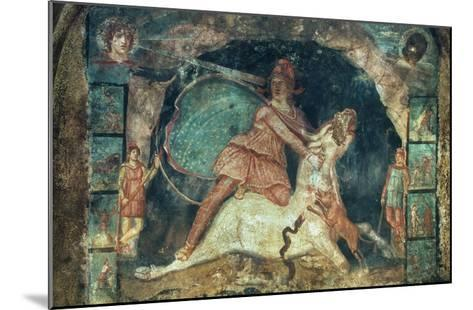 Mithras Killing The Bull--Mounted Giclee Print