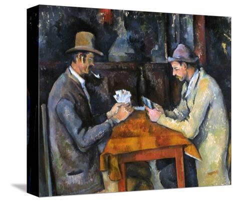 Cezanne: Card Player, C1892-Paul C?zanne-Stretched Canvas Print