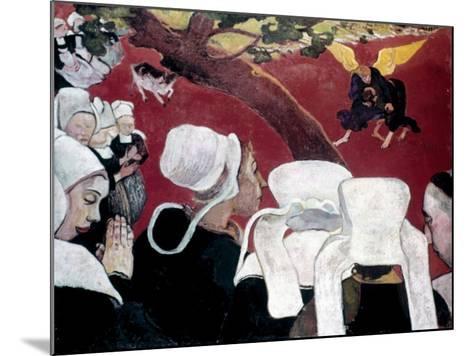 Gauguin: Vision, 1888-Paul Gauguin-Mounted Giclee Print