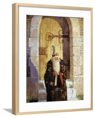 Astrologer, 1916-Newell Convers Wyeth-Framed Art Print