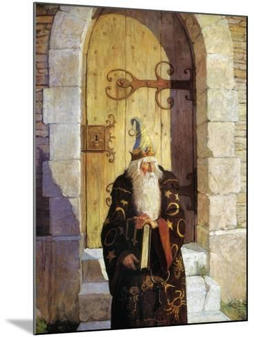 Astrologer, 1916-Newell Convers Wyeth-Mounted Giclee Print