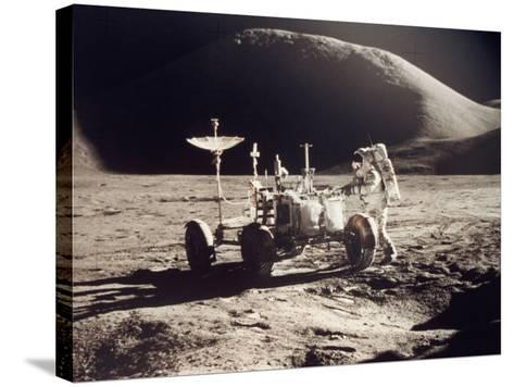 Apollo 15, 1971--Stretched Canvas Print