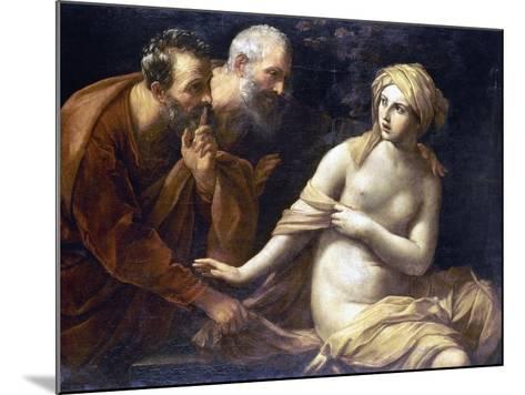 Susannah And Elders-Guido Reni-Mounted Giclee Print