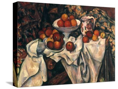 Cezanne: Still Life, C1899-Paul C?zanne-Stretched Canvas Print