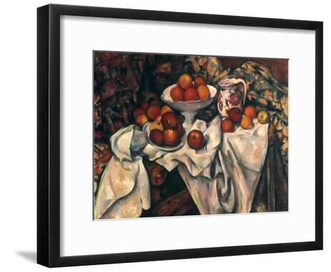 Cezanne: Still Life, C1899-Paul C?zanne-Framed Art Print