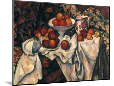 Cezanne: Still Life, C1899-Paul C?zanne-Mounted Giclee Print