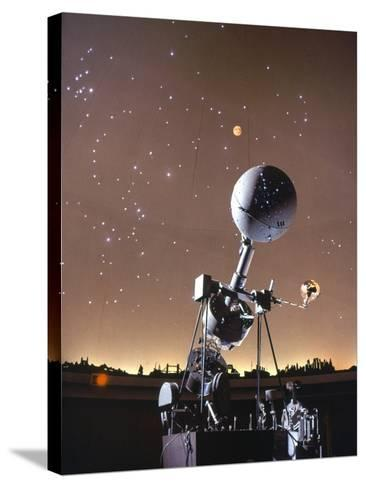 Zeiss Planetarium Projector--Stretched Canvas Print