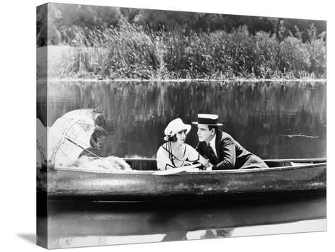 Silent Film Still: Couples--Stretched Canvas Print