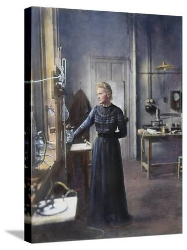 Marie Curie (1867-1934)--Stretched Canvas Print