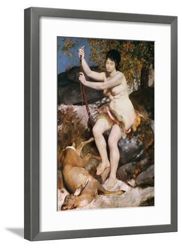 Renoir: Diana-Pierre-Auguste Renoir-Framed Art Print