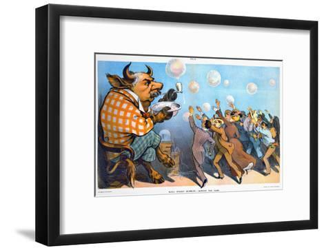 John Pierpont Morga--Framed Art Print