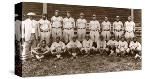 Baseball: Negro Leagues--Stretched Canvas Print