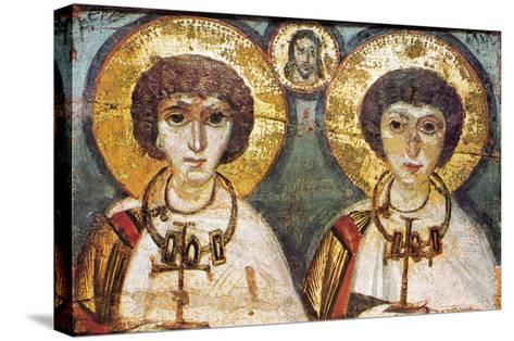 Saints Sergius And Bacchus--Stretched Canvas Print