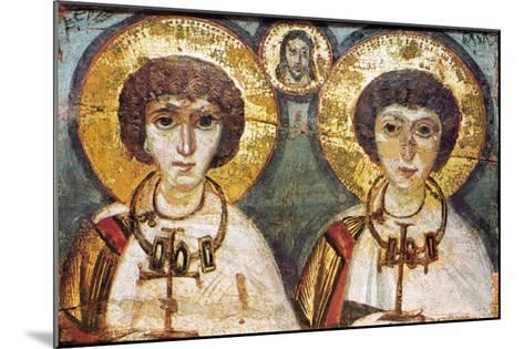Saints Sergius And Bacchus--Mounted Giclee Print