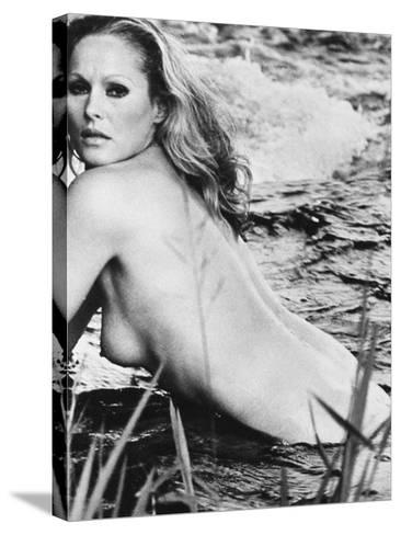 Ursula Andress (B. 1936)--Stretched Canvas Print