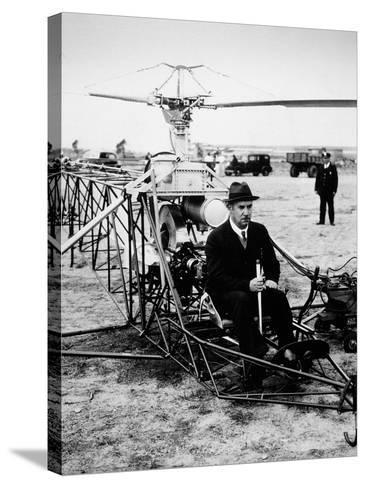 Igor Ivan Sikorsky--Stretched Canvas Print