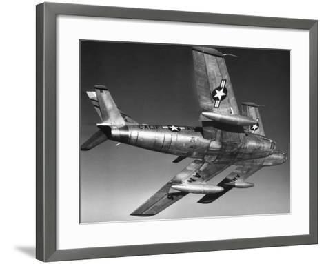 F-86 Jet Fighter Plane--Framed Art Print