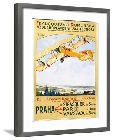 Aviation Poster, 1922 Giclee Print by | Art.com