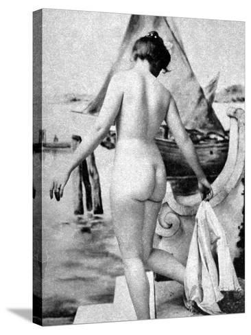 Bathing Nude, 1902-Fritz W. Guerin-Stretched Canvas Print