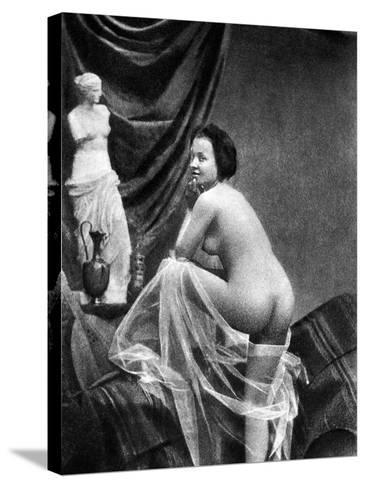 Nude Posing, 1855-Graf-Stretched Canvas Print