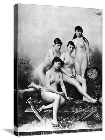 Nude Group, 1889--Stretched Canvas Print