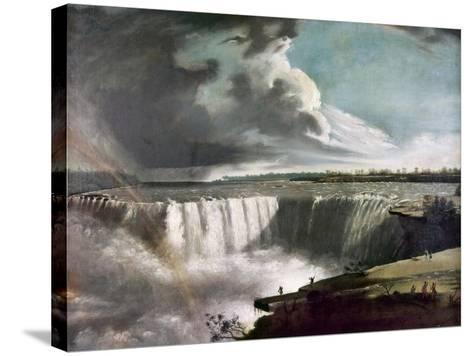 Morse: Niagara Falls, 1835-Samuel Finley Breese Morse-Stretched Canvas Print