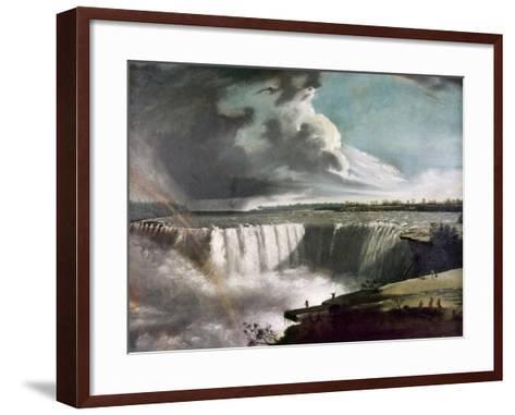 Morse: Niagara Falls, 1835-Samuel Finley Breese Morse-Framed Art Print