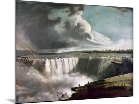Morse: Niagara Falls, 1835-Samuel Finley Breese Morse-Mounted Giclee Print