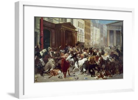 Wall Street: Bears & Bulls-William Holbrook Beard-Framed Art Print