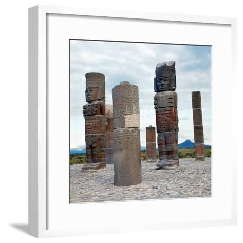 Tula: Toltec Monuments--Framed Art Print