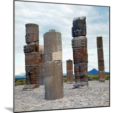Tula: Toltec Monuments--Mounted Giclee Print