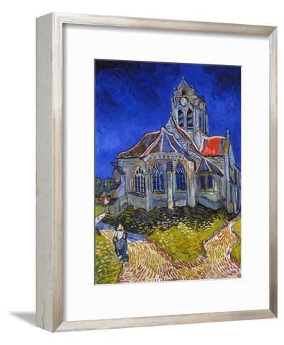 Van Gogh: Auvers, 1890-Vincent van Gogh-Framed Art Print