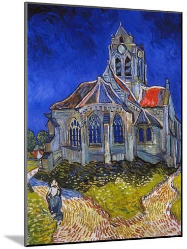 Van Gogh: Auvers, 1890-Vincent van Gogh-Mounted Giclee Print