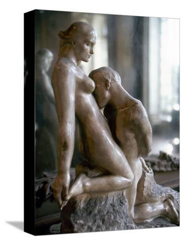 Rodin: Lovers, 1911-Auguste Rodin-Stretched Canvas Print