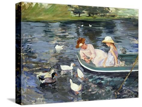 Cassatt: Summertime, 1894-Mary Cassatt-Stretched Canvas Print
