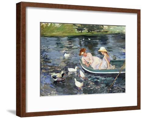 Cassatt: Summertime, 1894-Mary Cassatt-Framed Art Print