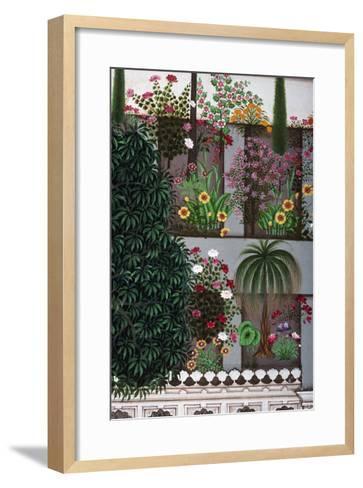 India: Garden--Framed Art Print