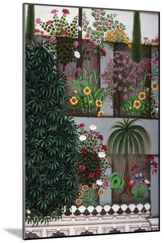 India: Garden--Mounted Giclee Print