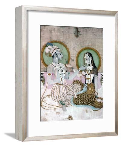 India: Couple--Framed Art Print