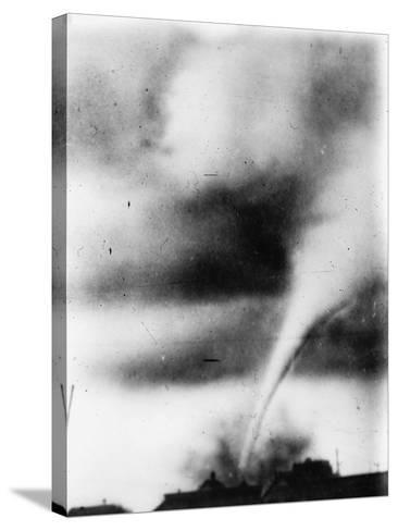 Oklahoma City: Tornado--Stretched Canvas Print