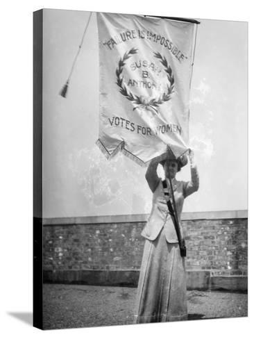 Suffragist, C1912--Stretched Canvas Print