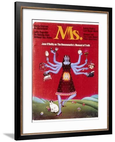 Ms. Magazine, 1972--Framed Art Print