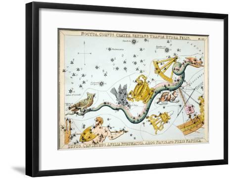 Constellation: Hydra-Sidney Hall-Framed Art Print